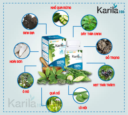 Karila có thành phần tự nhiên 100%